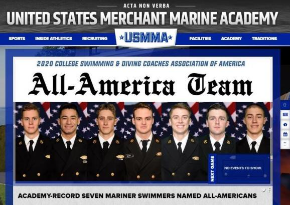 USMMA Athletic website